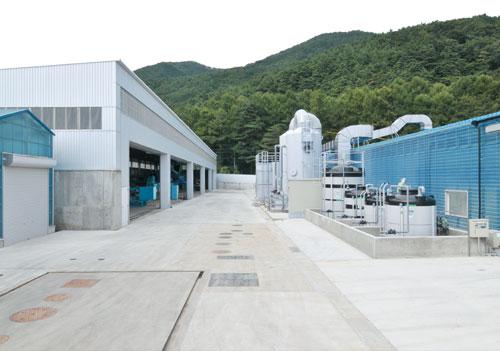 ああずさ環境保全 三郷工場